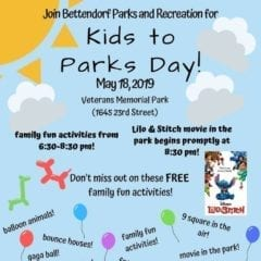 Bettendorf Kids to Parks Day Providing Fun For All!