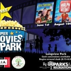 Bring the Family Out for Free Summer Movies at Longview Park