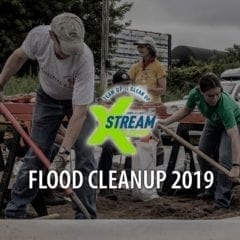 Join Xstream Cleanup for Flood Cleanup 2019 this Weekend!