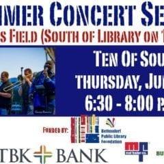 Bettendorf Library Kicks Off Outdoor Summer Concert Series this Thursday