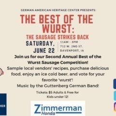 Who Will Be the Best of the Wurst? You Decide!
