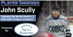 Scully Returns To The Quad City Storm