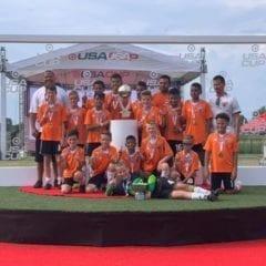EMSSC U13 Renegades Win 2019 USA Cup!