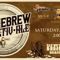 2019 Homebrew Festiv-Ale Hops Into WAKE Brewing!