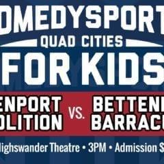 Comedy Sportz Coming To Davenport Junior Theater