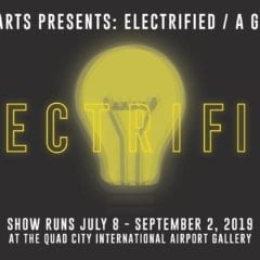 Make a Landing at Quad City Airport for an Electrified Art Exhibit