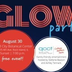 QCCT Glow Party Lighting Up QC Botanical Center!