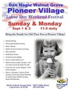 Pioneer Village's Labor Day Weekend Festivities Keeping History Alive