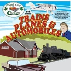 Trains, Planes & Automobiles in Geneseo!
