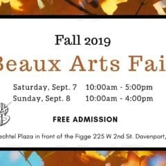 Fall 2019 Beaux Arts Fair at the Figge!