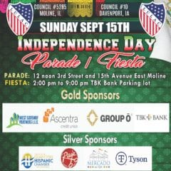 Celebrate Mexican Independence Day in East Moline!