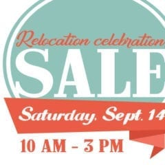Dress for Success with This Relocation Celebration Sale!