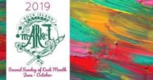 Rock Island Artists' Market Happening this Sunday!