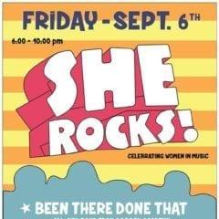 She Rocks! Fest Celebrating Women in Music at The Tangled Wood