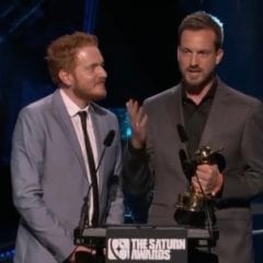 Beck and Woods Win Saturn Award For 'A Quiet Place'