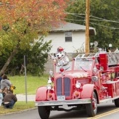 Fire Muster and Lights and Sirens Parade in the Village!