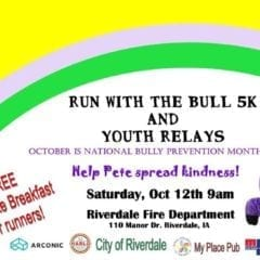 Run with the Bull and Help Spread Kindness!