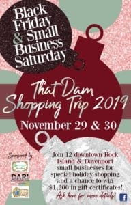 That Dam Shopping Trip Featuring Local Businesses Nov. 29-30