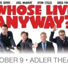 Whose Live Anyway? At Adler Theatre!