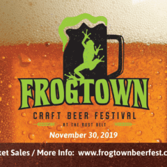 Jump on Down to the Inaugural Frog Town Craft Beer Festival!