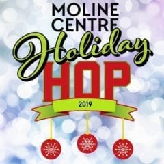 Hop On Downtown Moline for the 3rd Annual Holiday Hop!