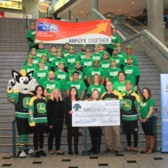 Quad City Storm Shows Thanks to United Way