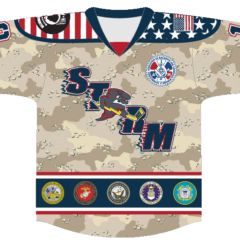 Paint The Ice For Veterans With The Storm