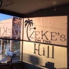 Zeke's Offers Warm Island Fare For Cold Temps