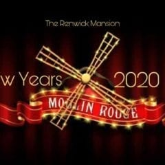 Bring In 2020 Moulin Rouge-Style at The Renwick Mansion!