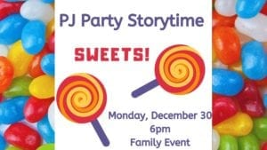 It's PJ Party Storytime at Moline Public Library!