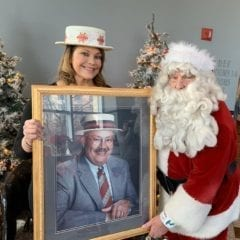 The tribute to the late Joe Whitty at Happy Joe's Holiday Party