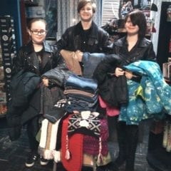 Mellow Blue Planet's holiday clothing drive