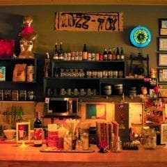 The bar at Rozz Tox in downtown Rock Island