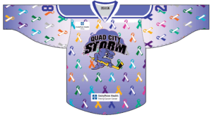 Honor Loved Ones With Quad City Storm's Paint The Ice