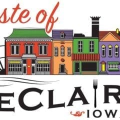 Things Are Getting Tasty in LeClaire This Weekend