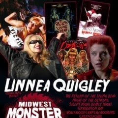 Linnea Quigley Added To Midwest Monster Fest 2020 Lineup!