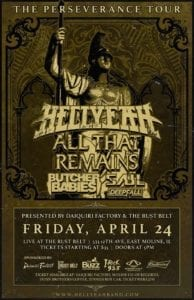 The Perseverance Tour Brings Hell Yeah, All That Remains, Butcher Babies, SAUL & DEEPFALL to the Quad Cities!