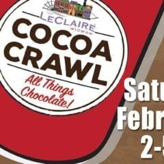 Chocoholics Unite at LeClaire Cocoa Crawl!