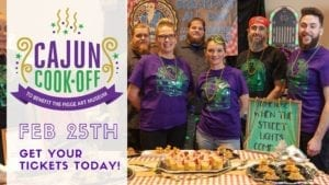 Have A Spicy Fat Tuesday With Figge Cajun Cook Off At Rhythm City Casino
