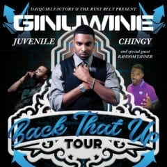 Ginuwine, Juvenile, Chingy Back It Up To Rust Belt