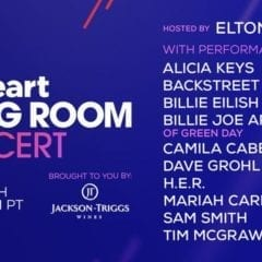 Elton John Hosts iHeart Living Room Concert Tonight!
