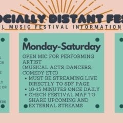 Miss Huge Festivals? Check Out Socially Distant Fest