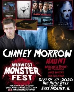 Midwest Monster Fest Bringing In Actor Chaney Morrow