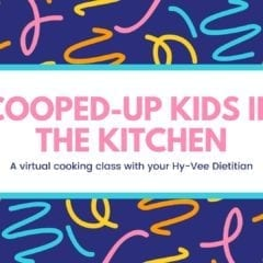 Cooped Up Kids in the Kitchen