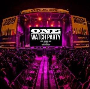 ONE Musicfest Hosts Netflix Party