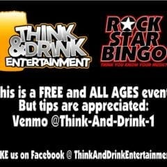Have Some Quarantine Rock Star Bingo Fun this Friday!