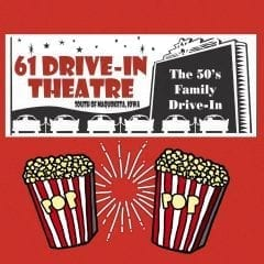 61 Drive-In Knows Social Distancing