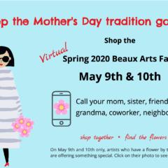 Spring 2020 Beaux Arts Fair Goes Virtual