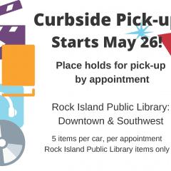 Rock Island Public Library Offering Curbside Service!