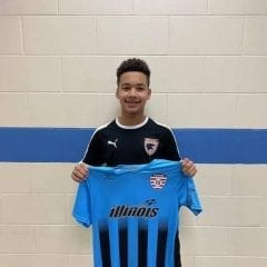 East Moline's Deontae Nache Selected For Midwest Olympic Development Soccer Camp